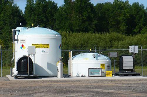 hydrogen peroxide dosing system